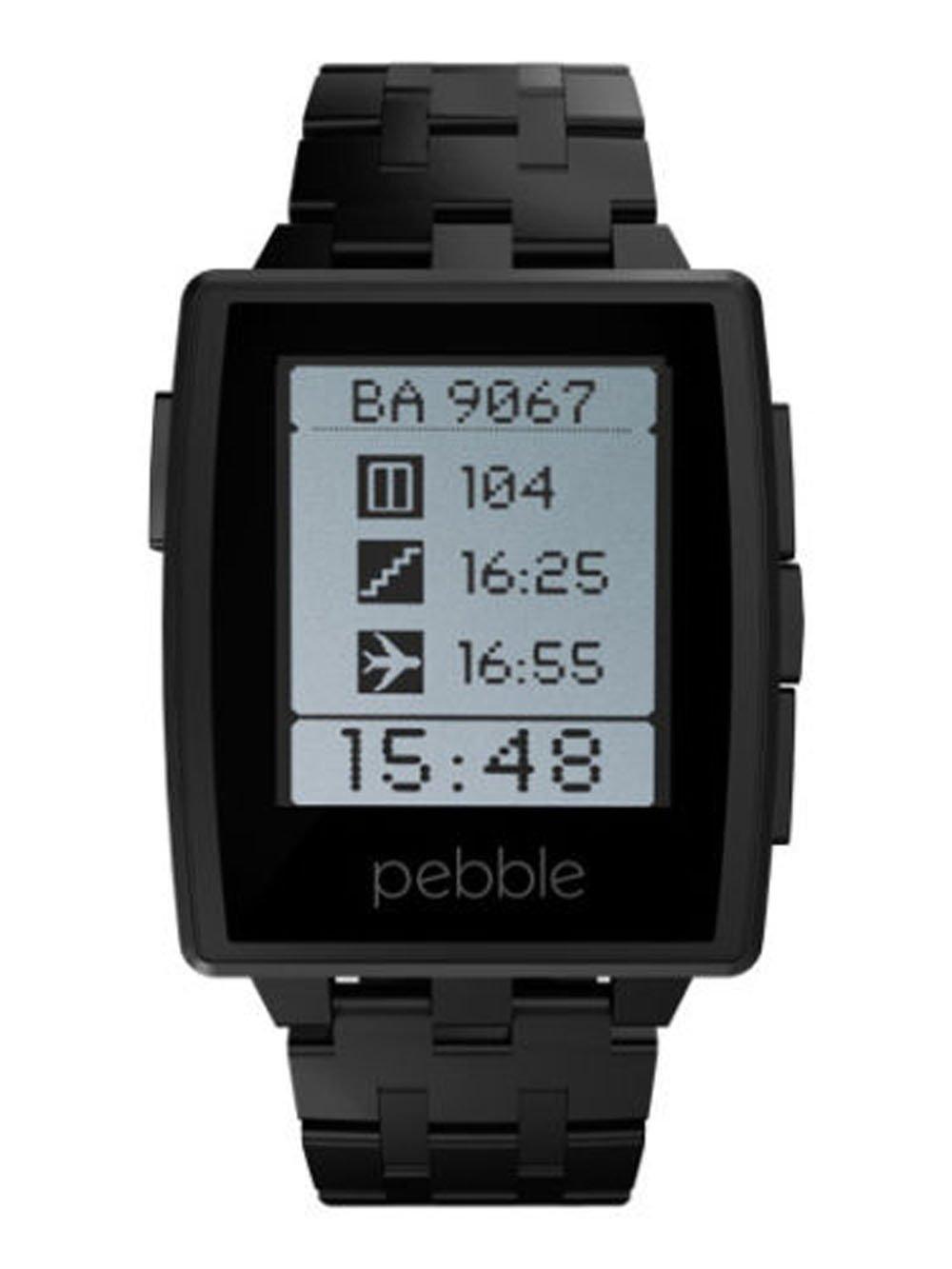 Amazon.com: New! Pebble Steel Smartwatch / Smart Watch for ...