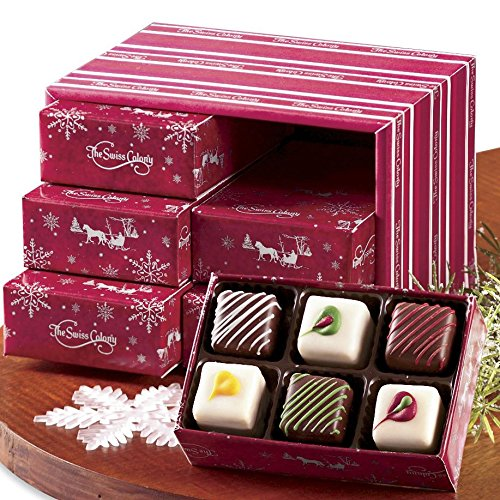 6 Petits Fours Gift Samplers from The Swiss Colony