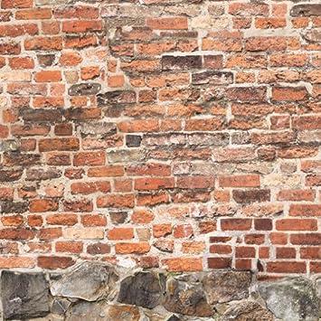 E020601-0 Foto-Tapete Vlies-Wandbild Klosterstein Mauer Steinoptik ...