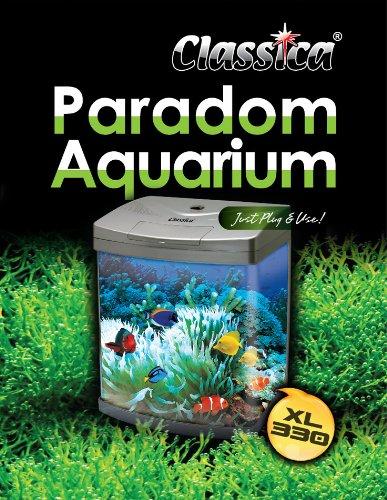 Classica paradom 30L blanco lazo frontal Kit de acuario pecera Tropical Marine con libre calentador: Amazon.es: Productos para mascotas