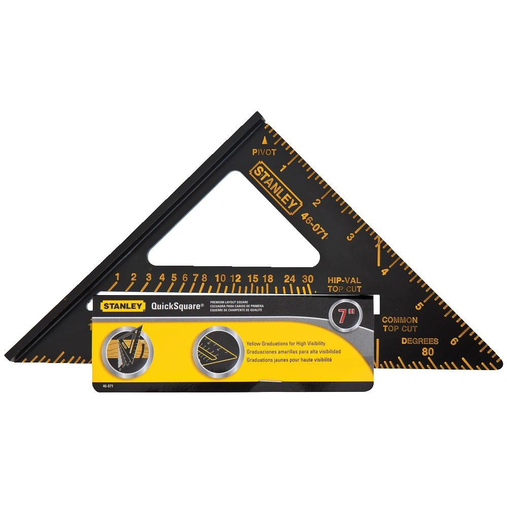 Stanley 46-071 Premium Quick Square Layout Tool: Amazon.com.mx ...