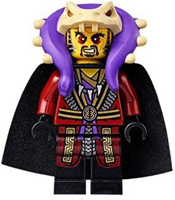 LEGO Ninjago Minifigure - Master Chen with Cape Serpertine Anacondrai (70749)