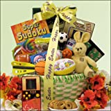 Game Time: Easter Gift Basket for Boys Ages 6 to 9 years