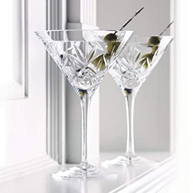 Waterford Huntley Martini, Pair