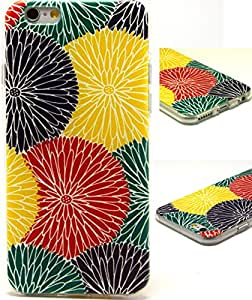 iPhone 6 Case,iphone 6 tpu case,iPhone 6 (4.7'') Case -THINKCASE Fashion Style Colorful Painted Cute Pattern TPU Soft Cover Case for iPhone 6 4.7 K09