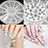 SMYTShop Mixed DIY Size Glitter Rhinestones Charm 3D Nail Art Decoration Accessories Reviews