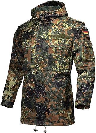 CIGONG Camisa Cortavientos de Camuflaje for el Viento con Camisa multibolsillo de Camuflaje for Hombre Chaqueta de Campo de Camuflaje Camuflaje (Size : Gr.5): Amazon.es: Hogar