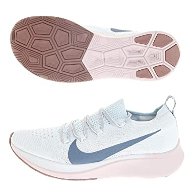 39971a8cc0a685 Nike Zoom Fly Flyknit Women s Running Shoe Glacier Blue Celestial  Teal-Coastal Blue 6.0