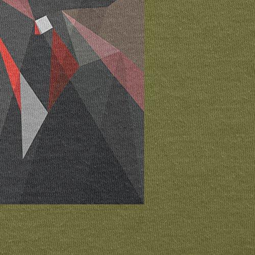 TEXLAB - Dark Art - Herren T-Shirt, Größe S, oliv