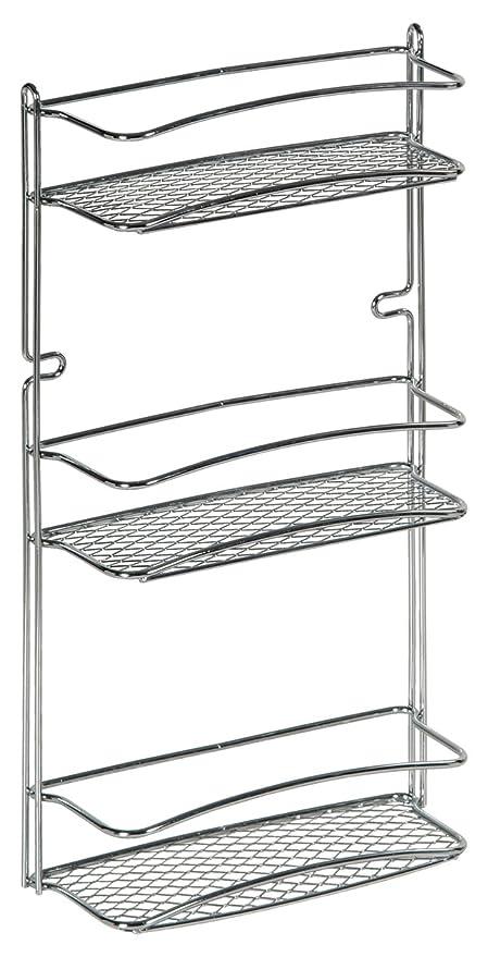 Amazon.com: Artex - Estantería para baño (3 postes, cromo ...