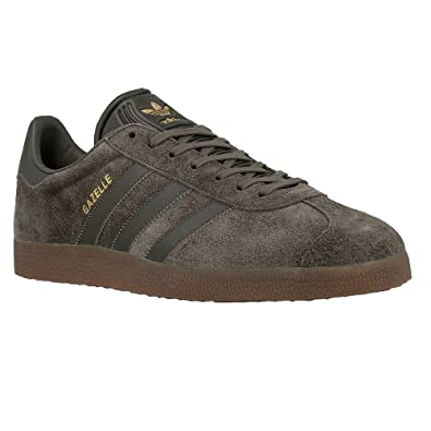 753de015ed adidas Mens Gazelle Grey Suede Trainers 9 US