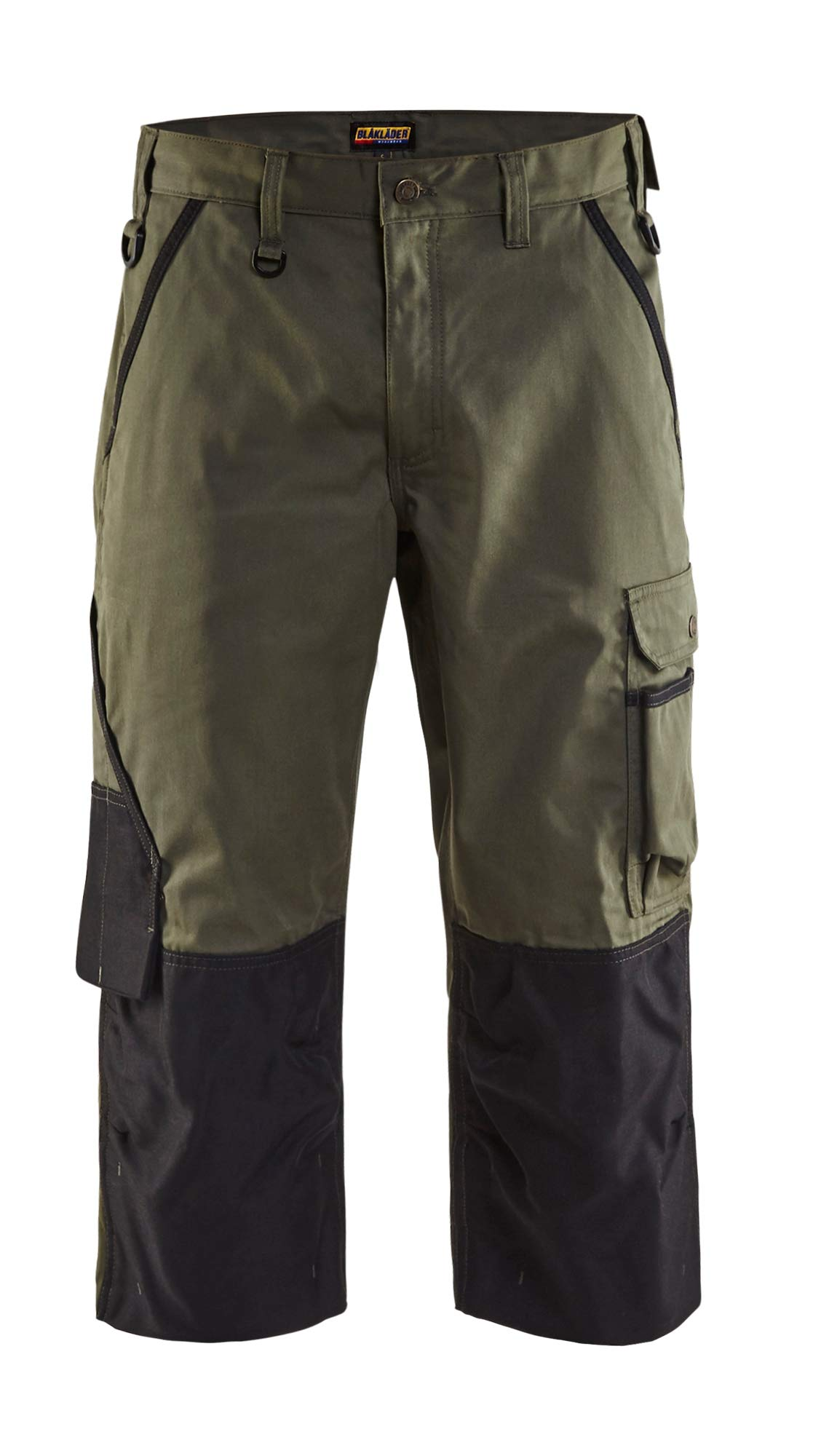 145518354699C58 Garden Trousers''Pirate'' Size 42/32 (Metric Size C58) IN Army-Green/Black, Army Green/Black