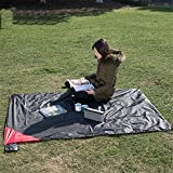 WLIXZ Outdoor Multi-Function Ultra-Light Double-Sided Waterproof Picnic Mat, Beach/Outdoor/Picnic Blanket,200145cm