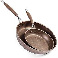 MOKIKA Nonstick Frying Pan, Best Nonstick Omelette Skillet, Stone Coating Cooking Pan, Dishwasher Safe, Induction…