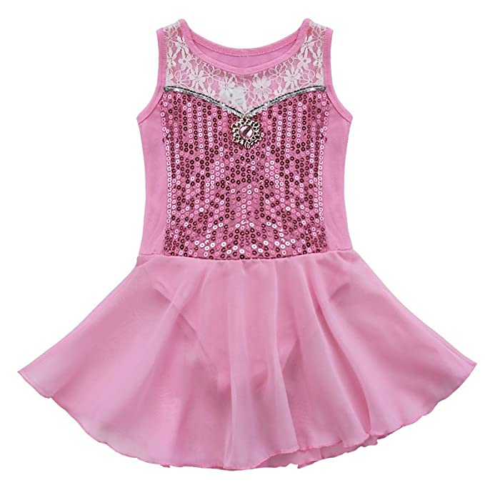 Amazon.com: iiniim Kid bebé Girls Leotard Danza Gimnasia ...
