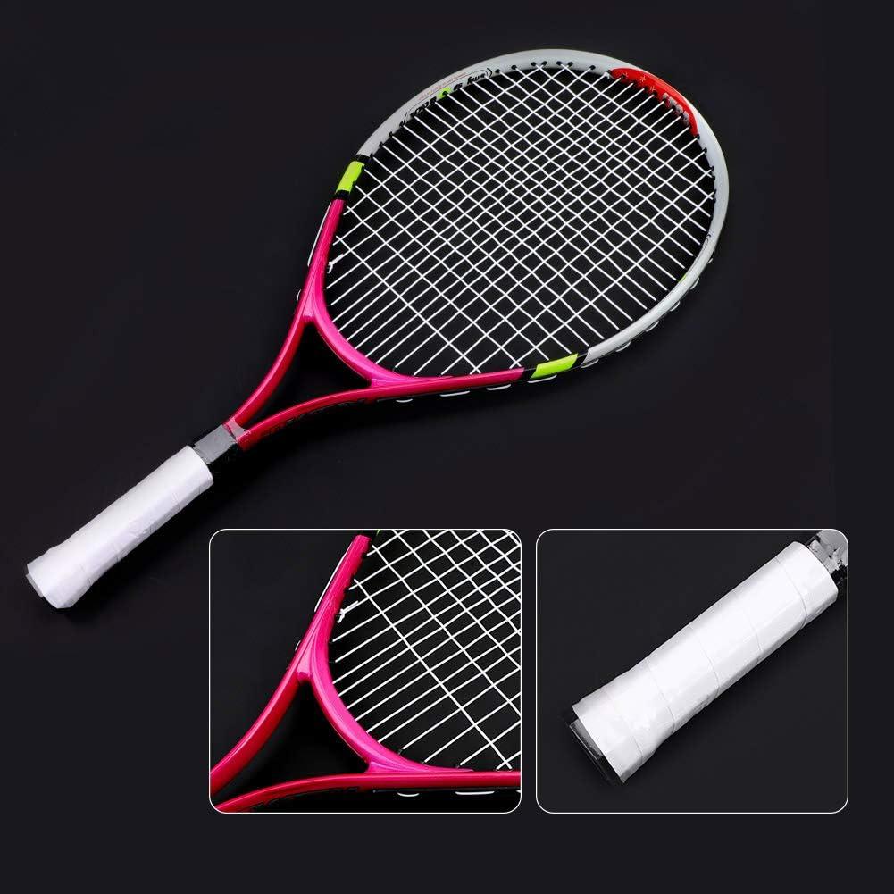 Josopa Raquette de Tennis Corde Durable Unique Raquette de Tennis l/éger Enfants Jouets Cadeau pour gar/çons Filles