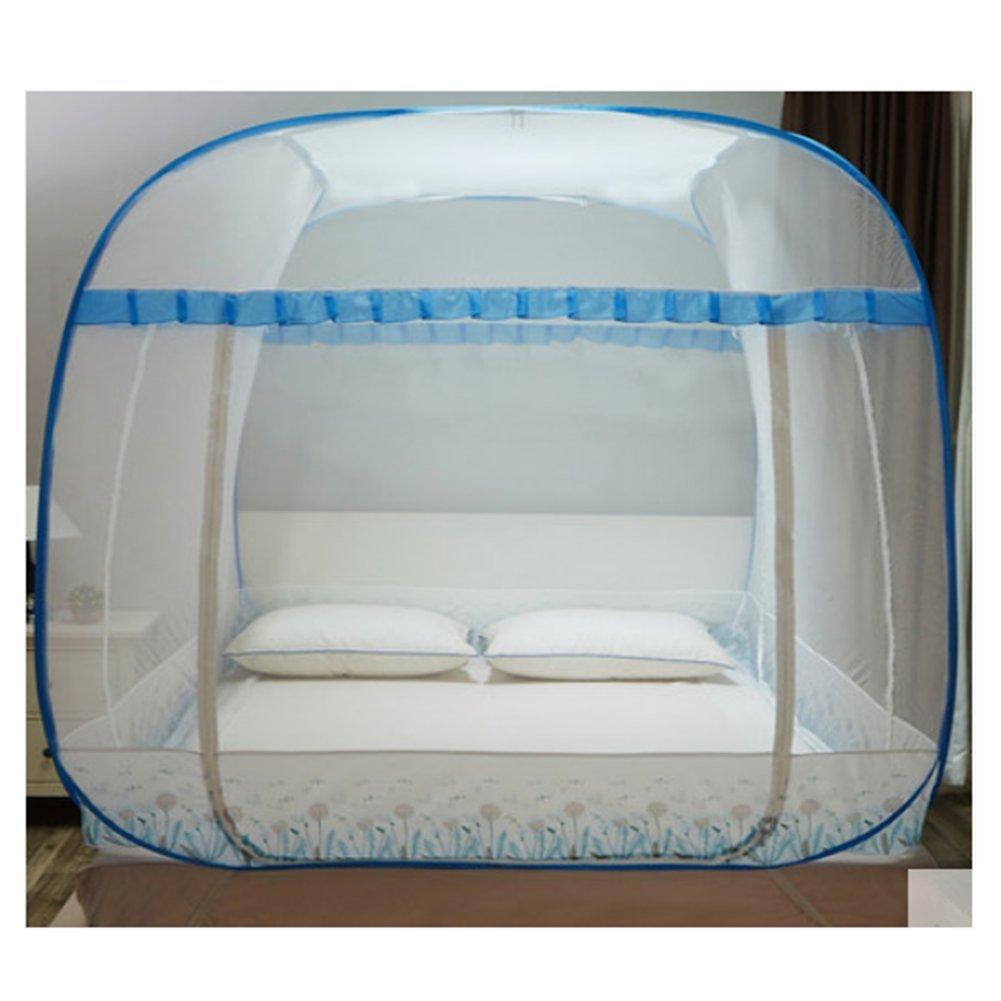 LSS Kostenlose Installation Von Moskitonetzen Jurten Top Drei Tür Studenten Schlafsaal Schlafkonten 1,2 Meter 1,51,8 M Bett Netze Doppelt