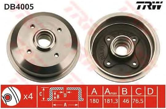 TRW DB4360 Brake Drum