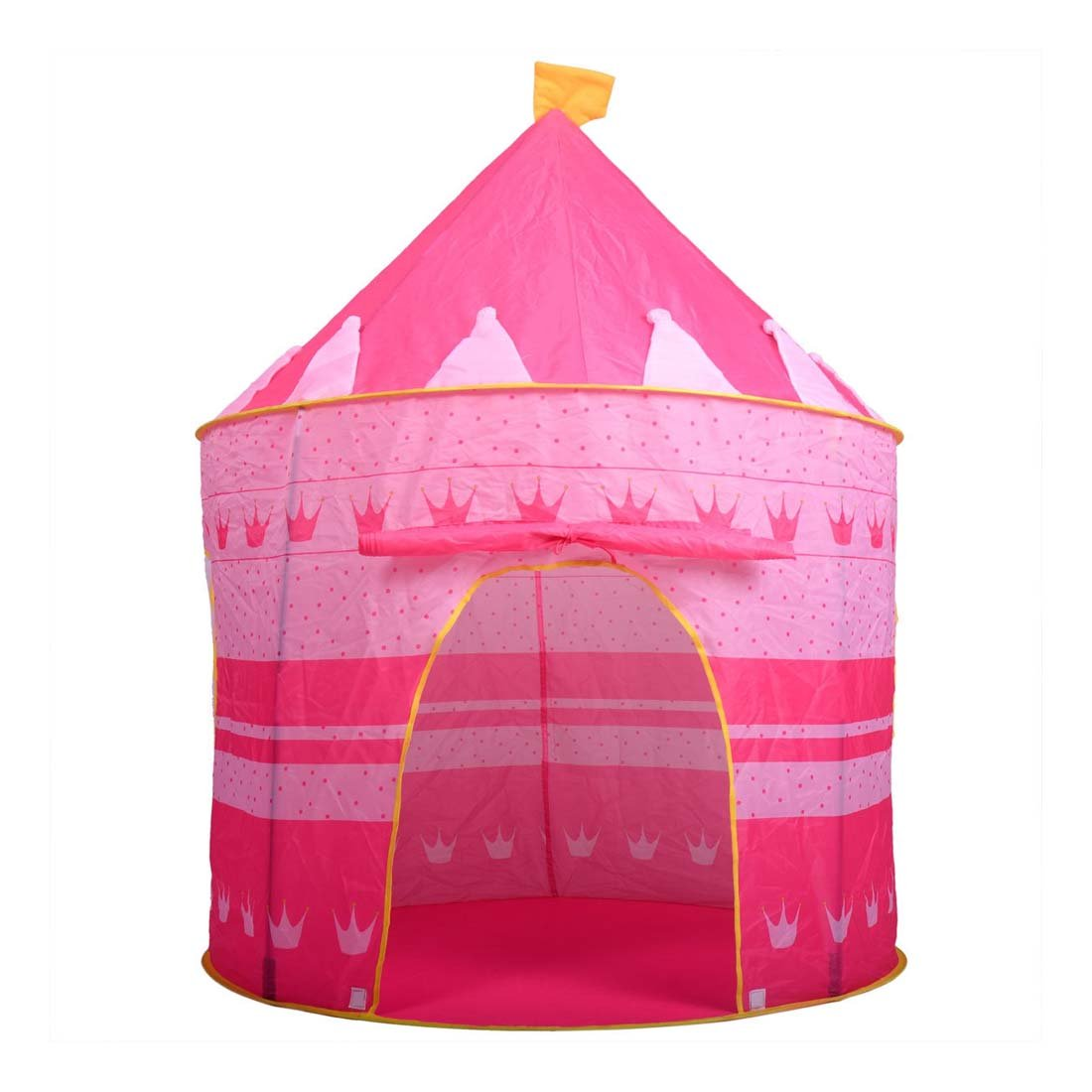Portable Pink Folding Play Tent Kids Girl Princess Castle Fairy House 40.140.380cm (LWH) B071FTQPR3