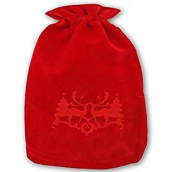 Amazon.com: Bolsas de regalo de Navidad con cordón, bolsa de ...