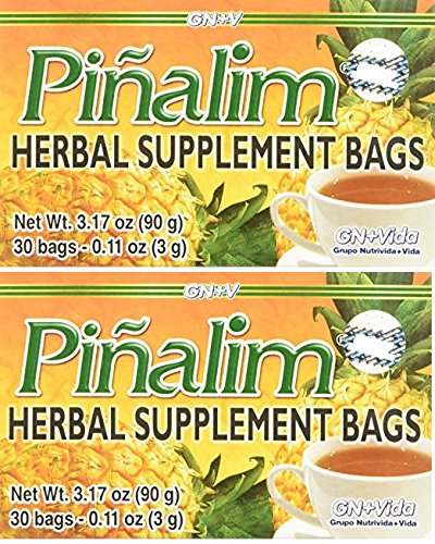 Pinalim Te De Pina Gn+vida USA Pinalim Pineapple Tea Extra Strength (2 Pack) by Pinalim