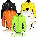 West Biking Sport Jacke, Outdoor Sportswear, Quick Dry Winddicht, Rückseite Reflektorstreifen Radfahren Running Coat