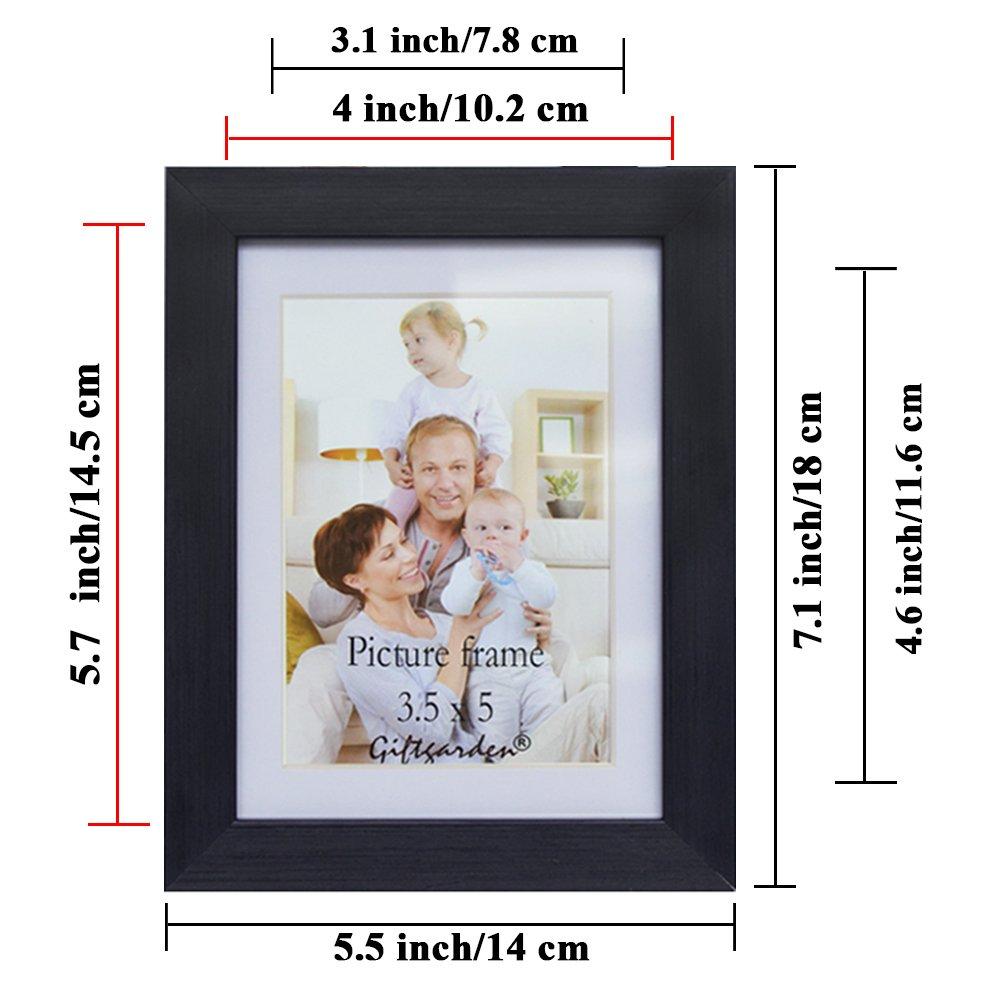 Amazon.de: Giftgarden Bilderrahmen 10 x 15 cm Ohne Passepartout ...