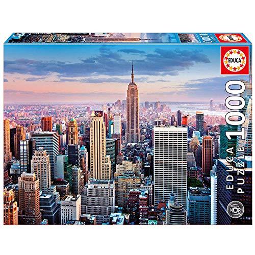 Educa Puzzle Glue - Educa 1,000 Piece Puzzle High Definition - Midtown Manhattan, New York