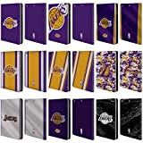 Official NBA Los Angeles Lakers Leather Book Wallet Case Cover for Apple iPad Mini 1/2 / 3