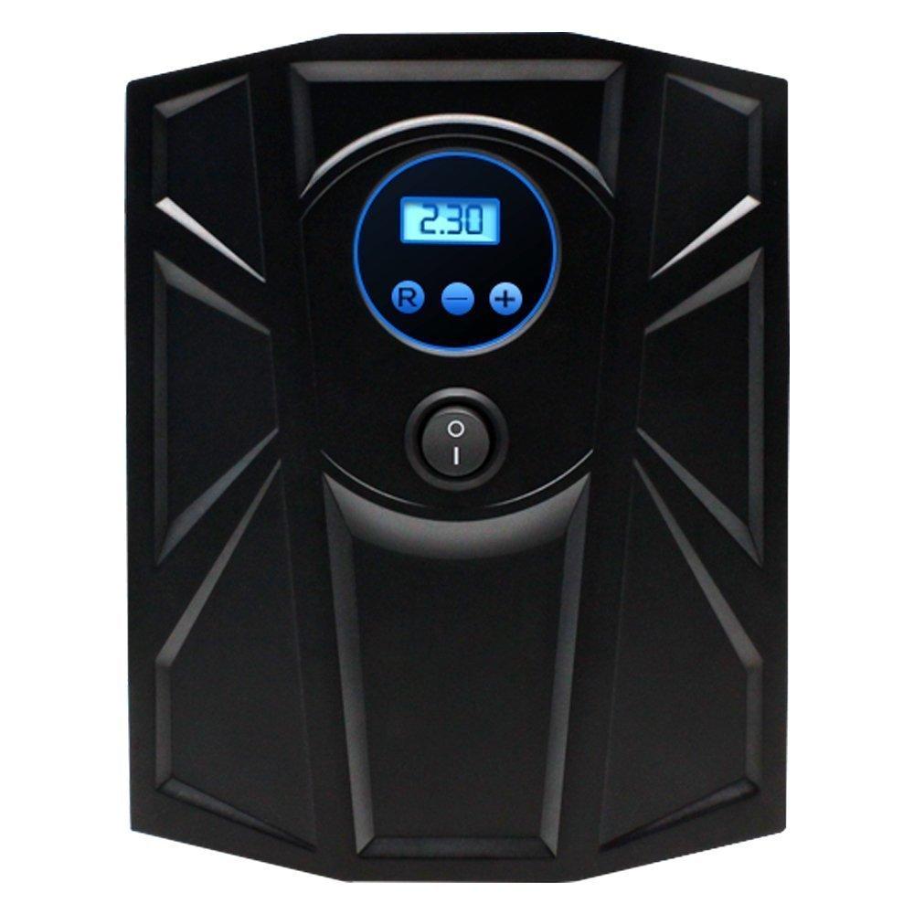 Tire Inflator, Autoor Portable DC 12V 150PSI Digital Auto Car Tire Air Pump Inflator Compressors (Black) FG-62