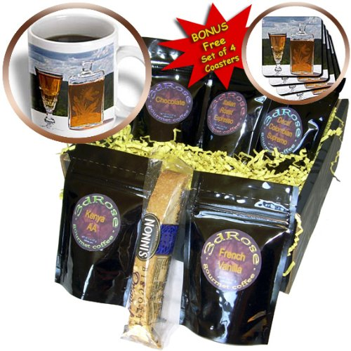 Danita Delimont - Sweden - Swedish aquavit schnapps, vodka, brannvin, Sweden - EU28 PKA0096 - Per Karlsson - Coffee Gift Baskets - Coffee Gift Basket (cgb_82606_1) (Chocolate Vodka Drink)