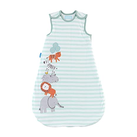 Grobag 1.0 Tog Jungle Stack Saco de dormir, 0 – 6 meses