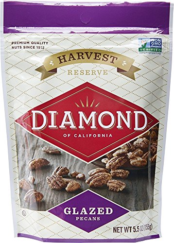 Diamond of California, Glazed Pecans, 5.5 Ounce (Pack of 6)