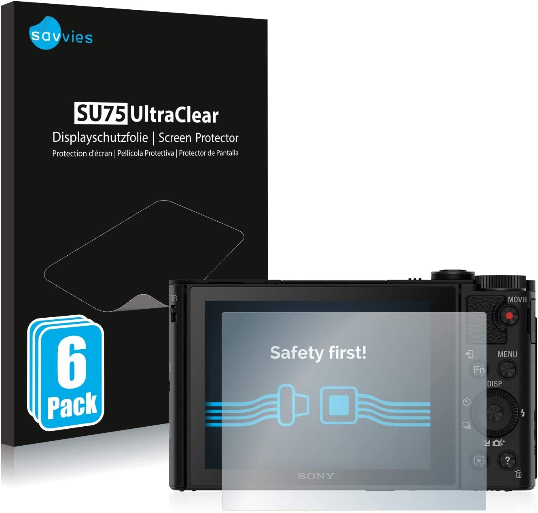 Savvies 6x Schutzfolie Kompatibel Mit Sony Cyber Shot Elektronik