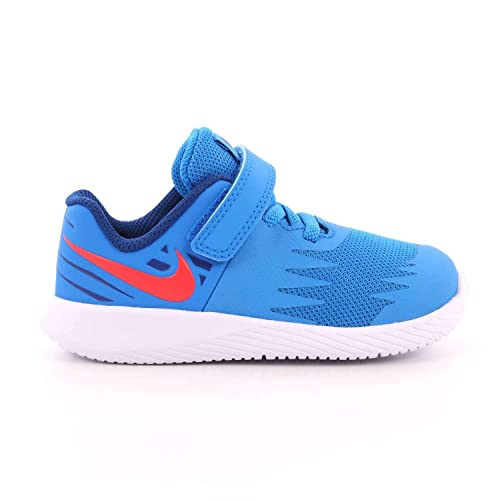 Nike Star Runner - Zapatillas Niño Azul Talla 27: Amazon.es: Zapatos y complementos