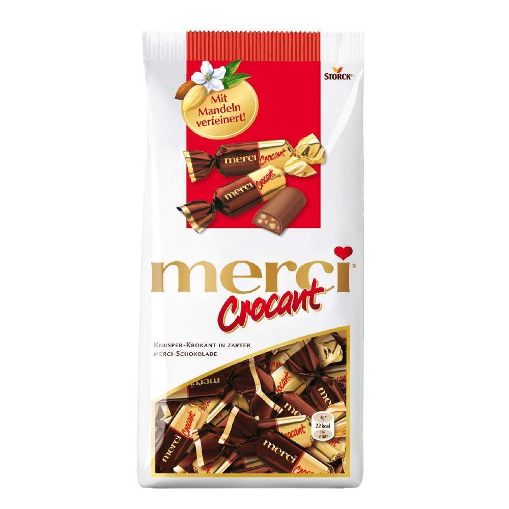 Amazon.com : Merci Crocant Bonbon 200g : Chocolate Assortments And ...