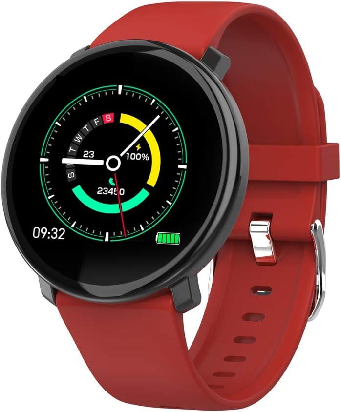 HQHOME Pulsera Actividad Inteligente Reloj Deportivo Impermeable Fitness Tracker Monitor de Ritmo Cardíaco Podómetro Contador de Calorías Pasos Monitor de Sueño Pulsómetros para Niños Mujeres Hombres