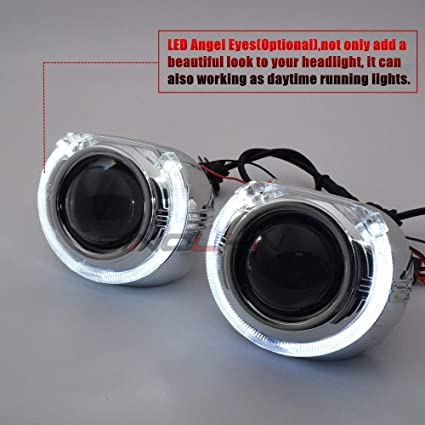 Uniqus Sinolyn Car Bi LED Headlight Projector Lens Lights