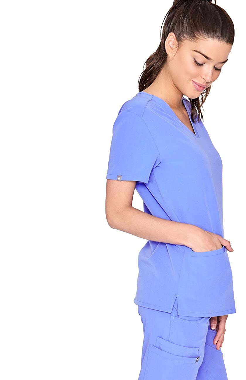6daabb27911 ... FIGS Casma Three-Pocket Scrub Top for Women – Tailored Fit, Super Soft  Stretch