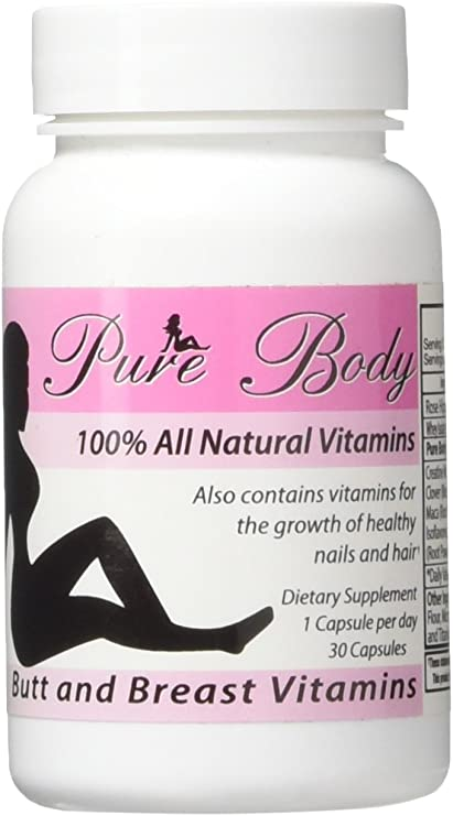 Amazon Com Purebody Vitamins The 1 Butt And Breast Enhancement