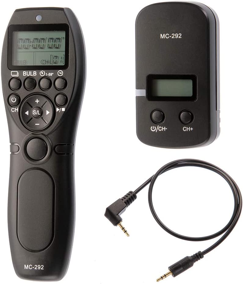 LCD Timer Remote Shutter Release Cord for Canon 750D 760D 700D 100D 70D RS-60E3