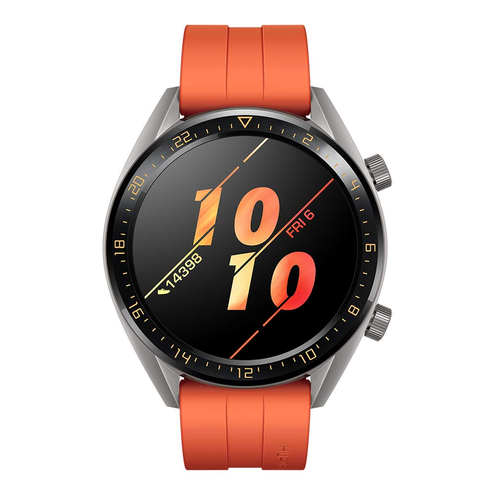 Huawei Watch GT Active - Reloj Inteligente, Naranja, 46 mm, Reloj ...