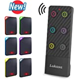 Lukasa Key Finder,Wireless Rf Item Locator Key Tracker Support Remote Control 1 RF Transmitter and 6 Anti-Lost Alarm…