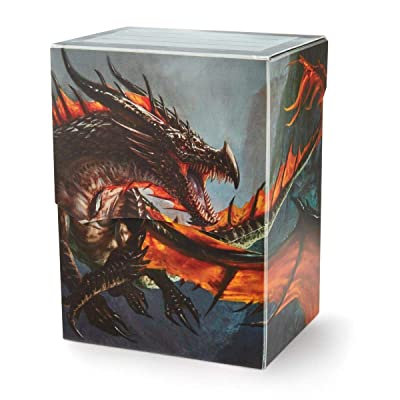 Deck Box: Dragon Shield Deck Shell: Limited Edition Amina: Toys & Games