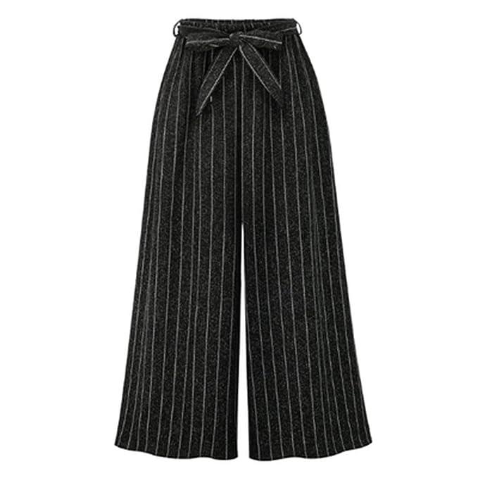 3100d48ac9643 Be fearless 2018 Autumn European Style Women Wide Leg Pants Plus ...