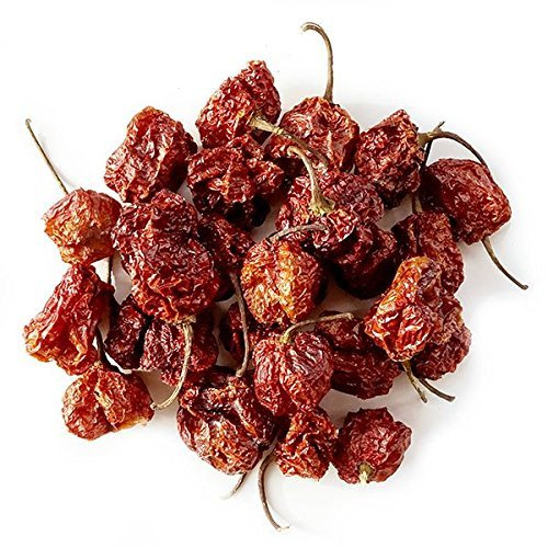 (Monsoon Spice Company Carolina Reapers Dry Whole Pepper Pods Hottest Peppers in the World | Free First Class Shipping in USA |)