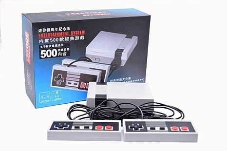 Nes 500 Mini Classic Precarga 500 Juegos Amazon Es Videojuegos