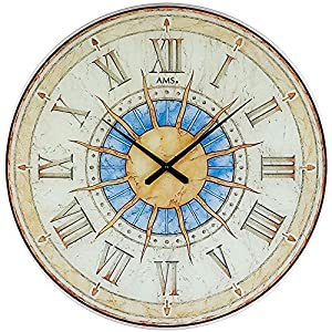 AMS Uhrenfabrik W9230 Reloj, Vidrio, Plateado 1