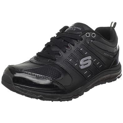 4fcc55b63ccbf Amazon.com | Skechers for Work Women's 51191 Air-Revvolution Sneaker ...