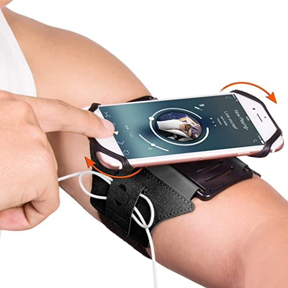 Gym Phone Holder Strap Wristband Running Bag Sport Pouch Case Universal Hiking Jogging Cycling Durable Fitness Cellphones & Telecommunications